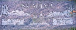 Erma Louise <I>Adams</I> Brimhall