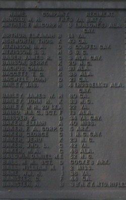 Corp Frederick Aaron Baker