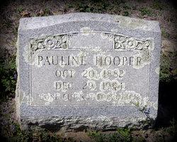 """Pauline """"Polly"""" <I>Clemons</I> Hooper"""