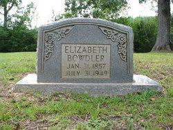 """Elizabeth """"Eliza"""" <I>Bigrig</I> Bowdler"""