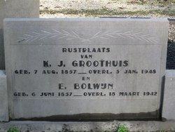 Klaas Jacob Groothuis