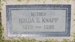 Huldah G <I>Gunsten</I> Knapp