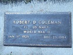 Robert Dudley Coleman