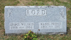 Mabel <I>Prince</I> Lord