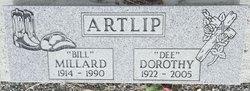 "Millard ""Bill"" Artlip"