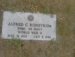Alfred C Ronstrom