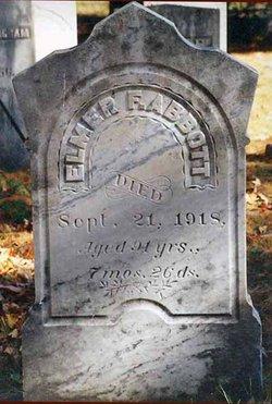 Elmer Francis Abbott