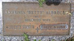 """Arevnia """"Betty"""" Albrecht"""