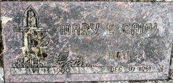Mary E <I>McElwee</I> Cady