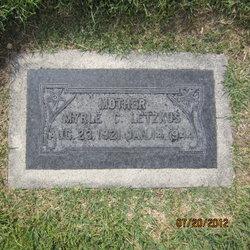 Myrle Irene <I>Carlisle</I> Letzkus