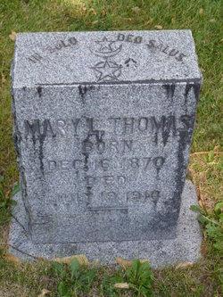 Mary L <I>Ables</I> Thomas