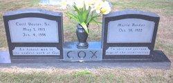 Cecil V Cox Sr.