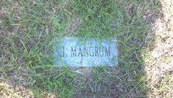 James Arthur Garfield Mangrum Jr.