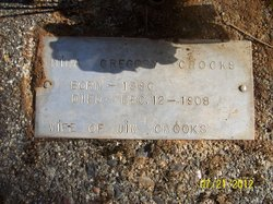 Nina <I>Gregory</I> Crooks