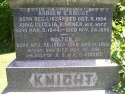 Anna Cecelia <I>Kintner</I> Knight