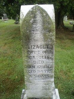 Elizabeth <I>Wisner</I> Baublitz
