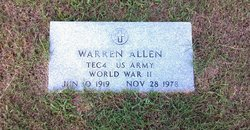 Warren L Boots Allen