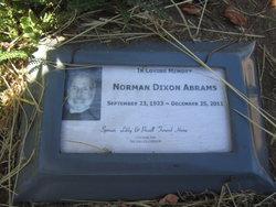 "Norman Dixon ""Norm"" Abrams"
