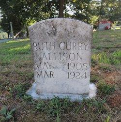 Ruth Harden <I>Curry</I> Allison
