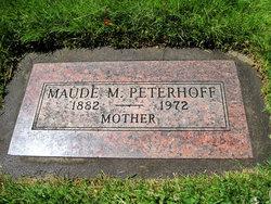 Maude Mary <I>Stone</I> Peterhoff