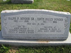 Edith <I>Dilley</I> Bender