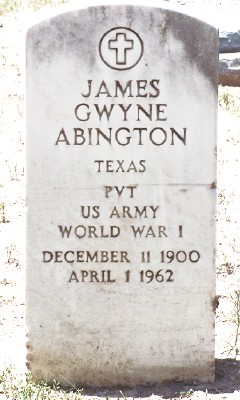 James Gwyne Abington