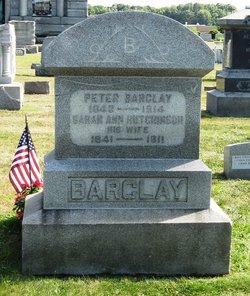 Sarah Ann <I>Hutchinson</I> Barclay