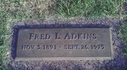 Fred L Adkins