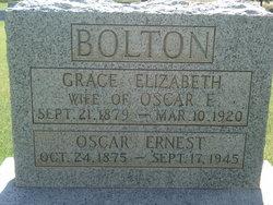 Grace Elizabeth <I>Forkner</I> Bolton