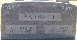 Ben Homer Barnett