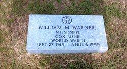 William M Warner