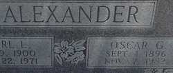 "Oscar Gordon ""Bum"" Alexander"