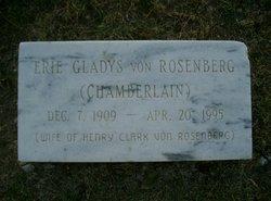 Erie Gladys <I>Chamberlain</I> Von Rosenberg