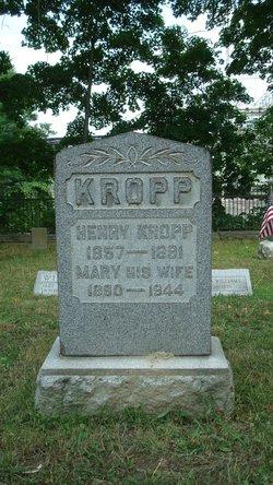 Mary <I>Stoebener</I> Kropp