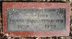 Betty Jean Rittmeyer