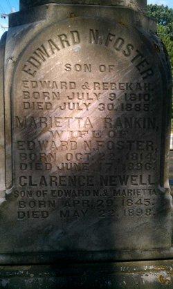 """Marietta """"Mariette"""" <I>Rankin</I> Foster"""