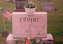 """John Allen """"Johnie/Red"""" Ervine"""