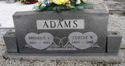 Broadus Lee Adams