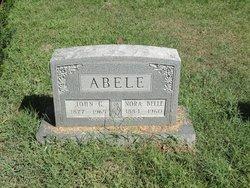 Nora Belle <I>Mathews</I> Abele