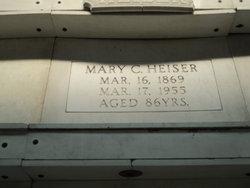 Mary <I>Cline</I> Heiser