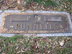 """Katie Berenice """"Bea"""" <I>McAlilly</I> Runnells"""