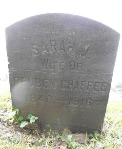 Sarah Jane <I>McQuiston</I> Chaffee