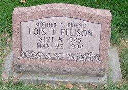 Lois <I>Taylor</I> Ellison