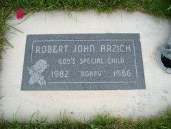 "Robert John ""Bobby"" Arzich"