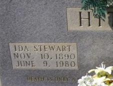 Ida Lillian <I>Stewart</I> Hitt