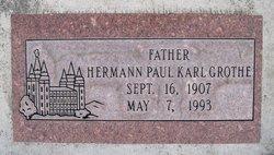 Hermann Paul Karl Grothe