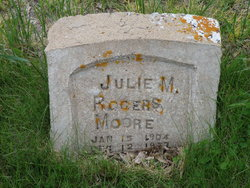 Julie Mary <I>Rogers</I> Moore