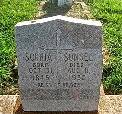 Sophia Adelaide <I>Dungen</I> Sonsel