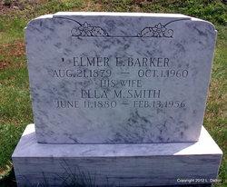 Ella M <I>Smith</I> Barker