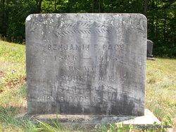 Benjamin F Page